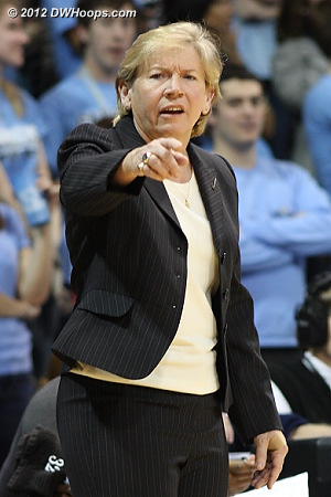 UNC coach Sylvia Hatchell always has her Tar Heels well prepared for Duke.
