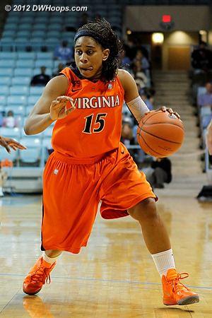 DWHoops Photo  - UVA Players: #15 Ariana Moorer