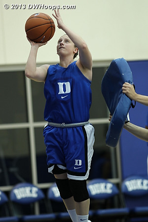 DWHoops Photo  - Duke Tags: #35 Jenna Frush
