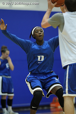 DWHoops Photo  - Duke Tags: #2 Alexis Jones