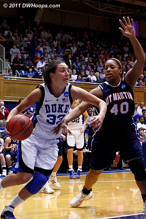 DWHoops Photo  - Duke Tags: #33 Haley Peters 40 Perica Glenn