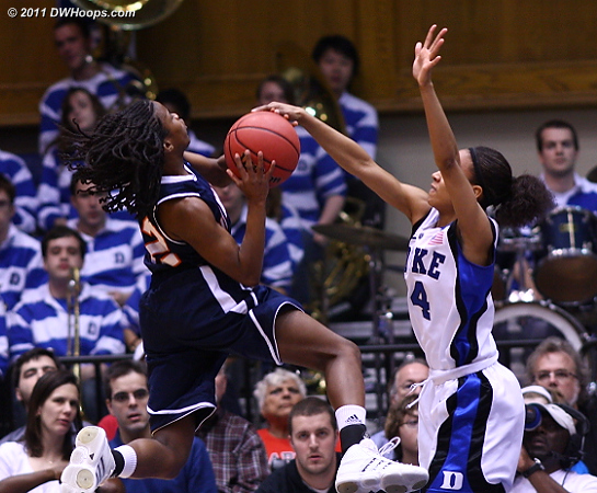 Block by Wells (she's everywhere!)  - Duke Tags: #4 Chloe Wells 12 Jasmine Newsome