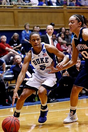 DWHoops Photo  - Duke Tags: #5 Jasmine Thomas 20 Jaclissa Haislip