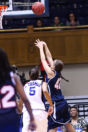 First hoop for UT-Martin  42 Beth Hawn