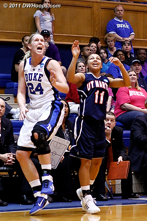 DWHoops Photo  - Duke Tags: #24 Kathleen Scheer 11 Heather Butler
