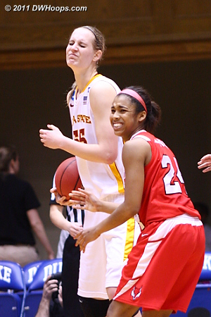 Foul on Yarde when Marist wanted to keep the clock running.  55 Anna Prins