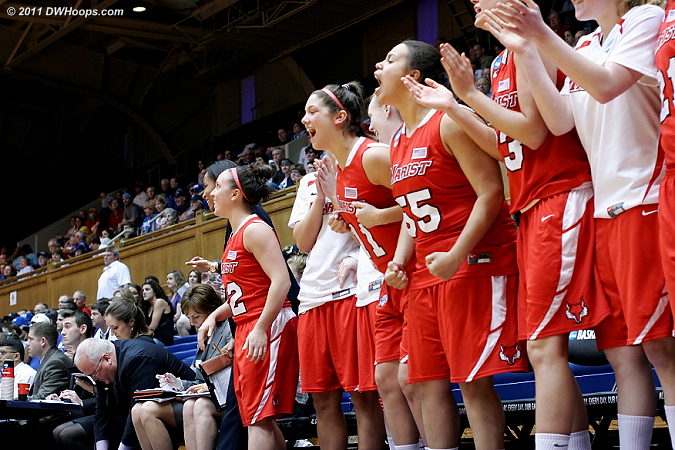 Marist bench ready to explode