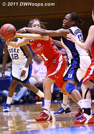 DWHoops Photo  - Duke Tags: #13 Karima Christmas 11 Leanne Ockenden