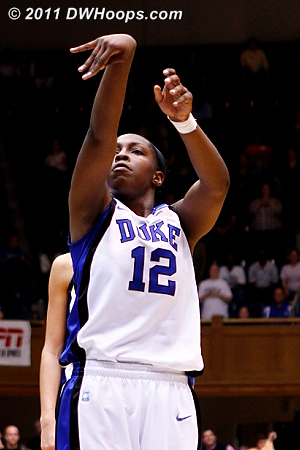 Money! Duke leads 61-60!  - Duke Tags: #12 Chelsea Gray