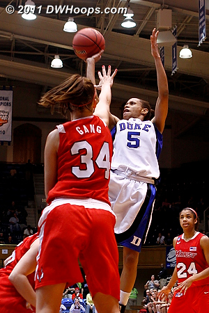 Miss  - Duke Tags: #5 Jasmine Thomas 34 Brandy Gang