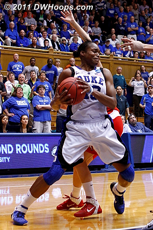 Time for Marist to foul  - Duke Tags: #13 Karima Christmas