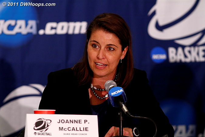 Postgame press conference  - Duke Tags: Joanne P. McCallie