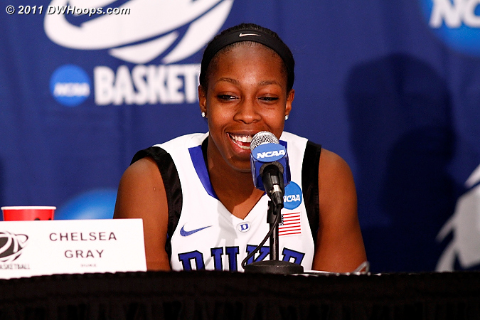 Postgame press conference  - Duke Tags: #12 Chelsea Gray