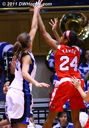 Yarde scratched first for the Red Foxes  24 Corielle Yarde