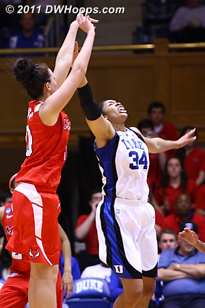 Marist answered  - Duke Tags: #34 Krystal Thomas 10 Kate Oliver