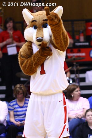 The Red Fox shushes the Duke faithful, Marist up 43-32