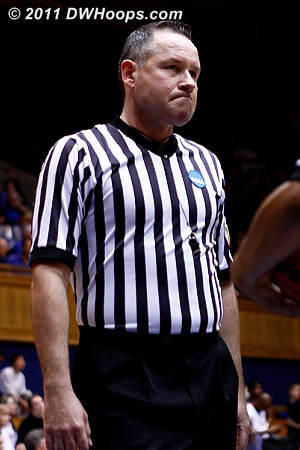 Referee Bryan Brunette
